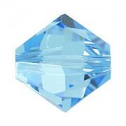 Swarovski Elements Perlen Bicones 5mm Aquamarine 100 Stück