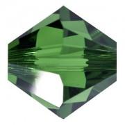 Swarovski Elements Perlen Bicones 4mm Dark Moss Green 50 Stück