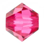 Swarovski Elements Perlen Bicones 3mm Indian Pink 50 Stück