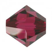 Swarovski Elements Perlen Bicones 5mm Ruby 100 Stück