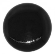 Swarovski Elements Perlen Crystal Coin Pearls 16mm Mystic Black 5 Stück