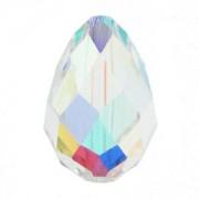 Swarovski Elements Perlen Tropfen 9x6mm Crystal AB beschichtet 1 Stück