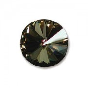 Swarovski Elements Rivolis 14mm Crystal Tabac beschichtet foiled 1 Stück