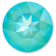 Swarovski Elements Stein rund 27mm Ultra Turquoise AB beschichtet 1 Stück