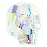 Swarovski Elements Scull Bead 13mm Crystal AB beschichtet 1 Stück