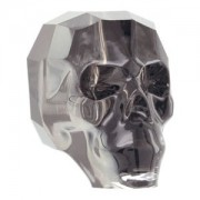 Swarovski Elements Scull Bead 13mm Crystal Silver Night beschichtet 1 Stück