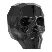 Swarovski Elements Scull Bead 13mm Jet 1 Stück