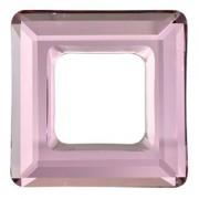 Swarovski Elements Square Ringe 14mm Antique Pink 1 Stück