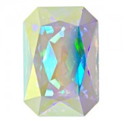 Swarovski Elements Steine Rechteck 27x18,5mm Crystal AB beschichtet F 1 Stück