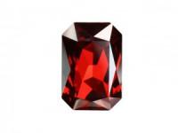 Swarovski Elements Steine Rechteck 27x18,5mm Crystal Red Magma F 1 Stück