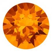 Swarovski Elements Chaton Steine SS39  Tangerine foiled 1Stück