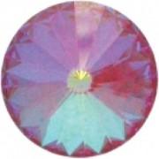 Swarovski Elements Stein Rivoli 18mm Ultra Ruby AB beschichtet 2 Stück