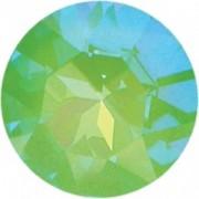 Swarovski Elements Stein rund 27mm Ultra Emerald AB