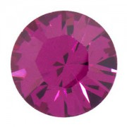 Swarovski Elements Chaton Steine SS29 Fuchsia foiled