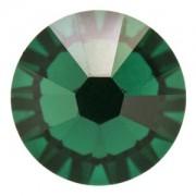 Swarovski Elements Steine Flatback Xilion SS34 Emerald F 10 Stück