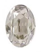 Swarovski Elements Steine Oval 30x22mm Crystal Silver Shade F 1 Stück