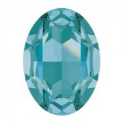 Swarovski Elements Steine Oval 30x22mm Light Turquoise F 1 Stück