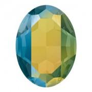 Swarovski Elements Steine Oval 30x22mm Crystal Iridescent Green F 1 Stück