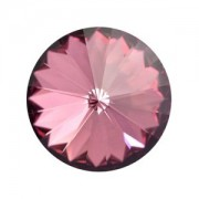 Swarovski Elements Rivolis 14mm Crystal Antique Pink foiled 6 Stück