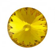 Swarovski Elements Rivolis 14mm Sunflower foiled 6 Stück