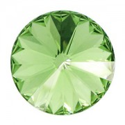 Swarovski Elements Rivolis 14mm Peridot unfoiled 6 Stück