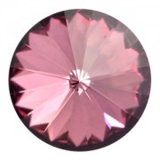 Swarovski Elements Rivolis 16mm Crystal Antique Pink foiled 1 Stück