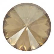 Swarovski Elements Rivolis 8mm Crystal Golden Shadow F 6 Stück