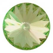 Swarovski Elements Rivolis 14mm Crystal Luminous Green unfoiled 6 Stück