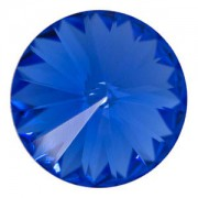 Swarovski Elements Rivolis 18mm Sapphire foiled 1 Stück