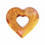 Swarovski Elements Herz Miss u Heart Designer Edition 34mm Crystal Astral Pink 1 Stück