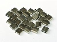 Miyuki Tila Beads 5mm Black Argentic Full TL55097 ca 7,2gr