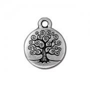 Tierracast Anhänger Tree of Live 15mm Silber