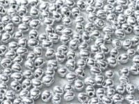 Miyuki Tropfen Beads 3,4mm Czech Coating 55006 Crystal Full Labrador ca 10 gr