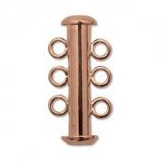 Rohrsteckverschluss 21mm 3-strängig Copper plated 1 Stück