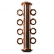 Rohrsteckverschluss 26mm 4-strängig Coppper plated 1 Stück