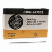 John James Perlennadeln 25 Stück Größe 12