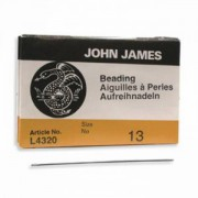 John James Perlennadeln 25 Stück Größe 13