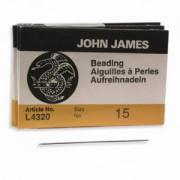 John James Perlennadeln 25 Stück Größe 15