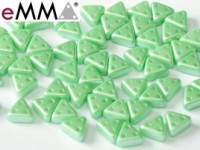 EMMA Beads 3x6mm Pastel Light Green 10 Gramm