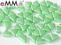 EMMA Beads 3x6mm Pastel Light Green 10 Gramm