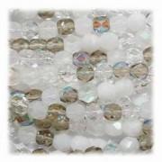 Glasschliffperlen 3mm MIX 100 Stück  Apparition