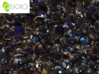 Gekko Beads 3x5mm Crystal Azuro ca 10 gr