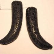 Lava Zahn 45x30mm poliert