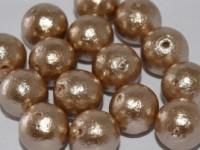 Miyuki Cotton Pearls 12mm J685 Beige 10 Stück