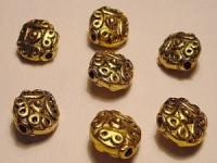 Discus 11mm goldfarben 5 Stück