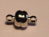 Magnetverschluss metallfarben