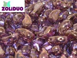 Zoliduo® Left Version 5 x 8 mm Crystal Brozne ca 50 Stück