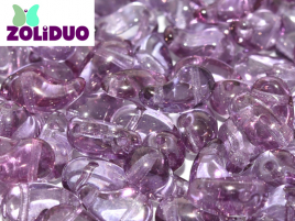 Zoliduo® Right Version 5 x 8 mm Crystal Lila Vega Luster ca 50 Stück