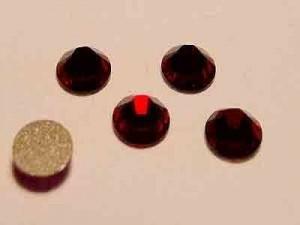Swarovski Elements Steine Flatback Xilion Siam F  10 Stück