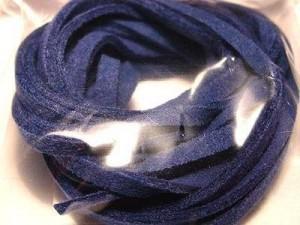 Micro-Wildlederband 3mm dunkelblau